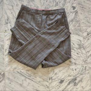 Classic Plaid Work Pants